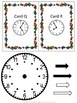 Telling Time Scavenger Hunt with Interactive Clock Pattern