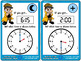 Telling Time to the Hour, Half-hour, and Quarter-hour {Sca