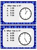 Telling Time Scoot Printable