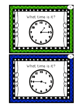 Telling Time Shuffle