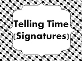 Telling Time (Signatures): Teaching Aid for Reading Time S
