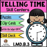 Telling Time to the Hour and Half Hour Games