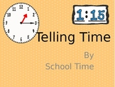 Telling Time Slideshow - Reading and Writing Time to the Nearest Minute