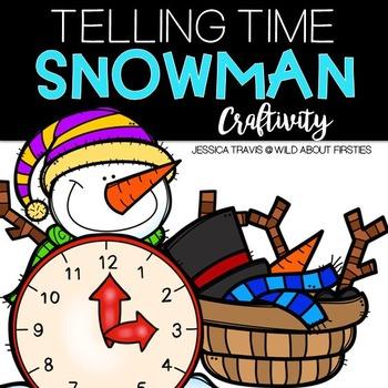 Telling Time {Snowman Clock Craftivity}