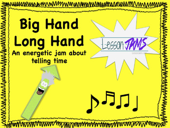 Telling Time Song: Big Hand Long Hand mp3 & Lyrics