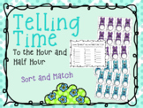 Telling Time Sort and Match