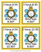 Telling Time Spring Bees I Have Who Has? Game