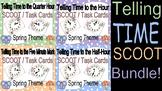 Telling Time Spring Clock Scoot BUNDLE