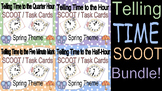 Telling Time Spring Clock Scoot BUNDLE