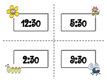 Telling Time (Spring Themed)