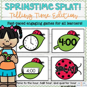 Telling Time: Springtime SPLAT