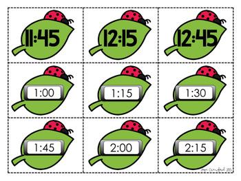 Telling Time Game: Springtime SPLAT