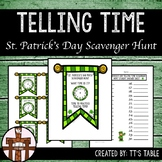 Telling Time St. Patrick's Day Scavenger Hunt