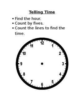Telling Time Steps
