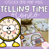 Telling Time Stones - o'clock and half past