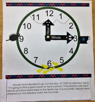 Telling Time Story