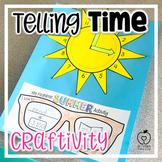 Telling Time Summer Craftivity