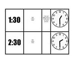 Telling Time Task Card Bundle