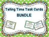 Telling Time Task Cards BUNDLE