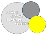 Telling Time {Task Cards, Blank Clocks, Quick Activities}