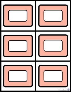 Telling Time Task Cards - Clock Templates