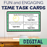 Telling Time Task Cards | Elapsed Time