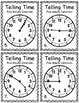 Telling Time Task Cards: Five Minute Intervals