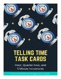 Telling Time Task Cards - Complete Set