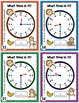 Telling Time Task Cards {To the Hour, Half-hour, and Quart