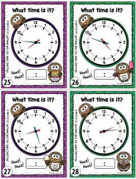 Telling Time Task Cards {To the Minute}