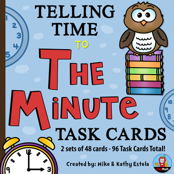 Telling Time {To the Minute}