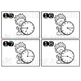 Telling Time Task Cards - Winter