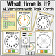 Telling Time Task Cards and File Folders  for Autism and Special Education
