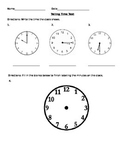 Telling Time Test