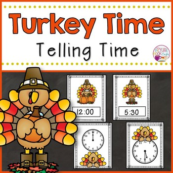 Telling Time-Thanksgiving