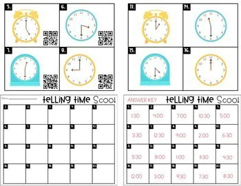Telling Time: The Bundle