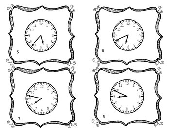 Telling Time To Nearest Minute