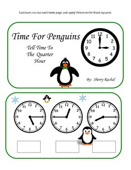 Telling Time To The Hour, Half Hour, and Quarter Hour