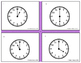 Telling Time Two Different Levels Task Cards