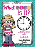 Telling Time Unit {Differentiated, Games, Anchor Charts, and More}
