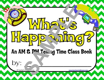 Telling Time Unit II from Teacher's Clubhouse