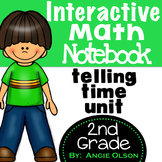 Telling Time Second Grade Math Notebook