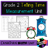 Telling Time Unit Second Grade