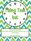Telling Time Unit for Special Education