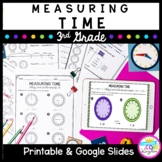 Telling Time Unit for Google Slides Distance Learning 3.MD.A.1