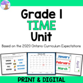 Time Unit (Grade 1) - Distance Learning