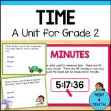 Telling Time Unit for Grade 2 (Ontario Curriculum)