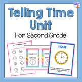 Telling Time Unit for Second Grade