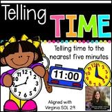 Telling Time (Virginia SOL 2.9)