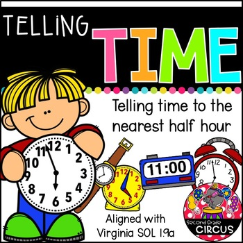 Telling Time (Virginia SOL 1.9a)